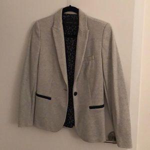 Zara Basic Grey Blazer